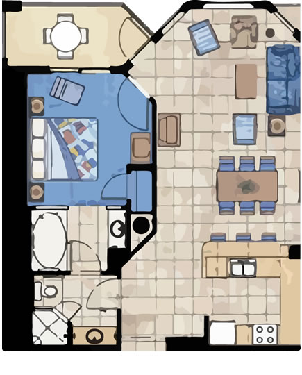 Marriott Aruba Surf Club 3 Bedroom Floor Plan Www